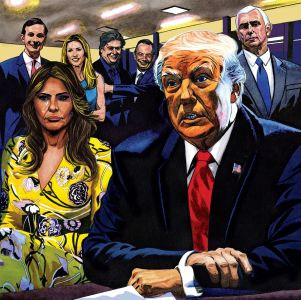Trump Political Art