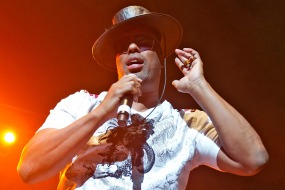 """PHILADELPHIA, PA - NOVEMBER 30: Rapper John """"Ecstacy"""" Fletcher of Whodini performs during the Hip Hop Gods Classic Tourfest Revue at the Liacouras Center on November 30, 2012 in Philadelphia City. (Photo by Gilbert Carrasquillo/Getty Images)"""