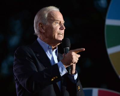 NEW YORK, NY - SEPTEMBER 26: Vice President of the United States Joe Biden attends 2015 Global Citizen Festival to end extreme poverty by 2030 in Central Park on September 26, 2015 in New York City. (Photo by Michael Kovac/FilmMagic)