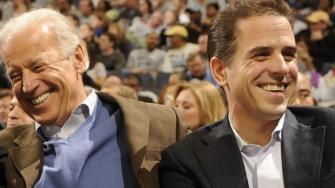 Joe Biden With Son Hunter