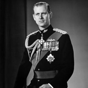 Prince Philip In Military Garb