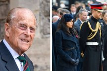 Prince Philip, Meghan Markle & Prince Harry