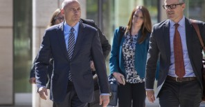 Avenatti And His Attorney Walking About