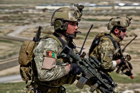 Afghan National Army Special Forces