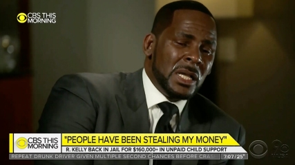 R Kelly And His Child Support Problems