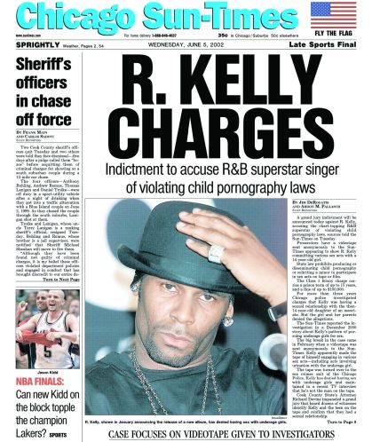 R Kelly In The News With Alleged Child Sex Tape