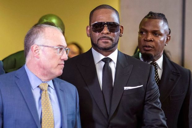 R Kelly With His Attorney & Fixer