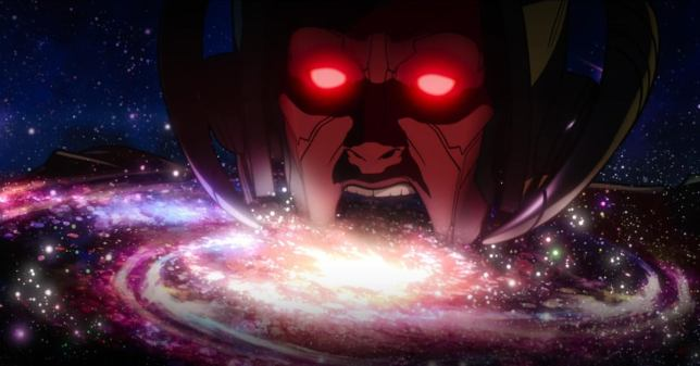Galactus Devouring A Star System