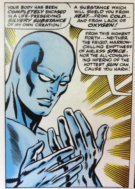 Silver Surfer Silvery Substance